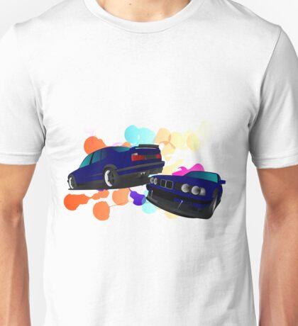 BMW E34 5 series Unisex T-Shirt