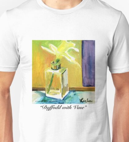 Daffodil with Vase Unisex T-Shirt
