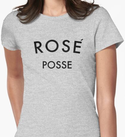 Rose Posse Womens Fitted T-Shirt