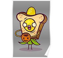 Corny Bread Poster