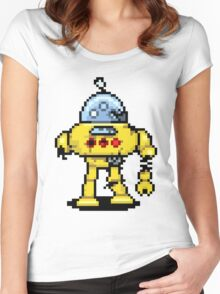 RoboPix Women's Fitted Scoop T-Shirt