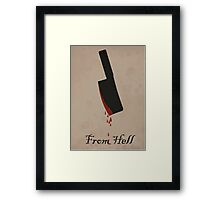 From Hell Print Framed Print