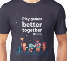 Play Games Better Together - Yellow Team Unisex T-Shirt
