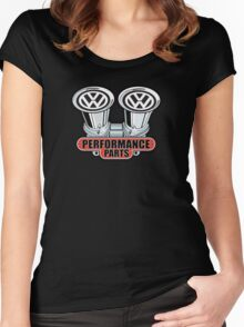 VW Performance Women's Fitted Scoop T-Shirt
