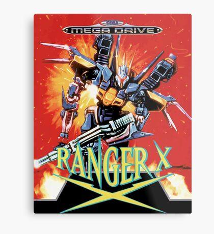 Ranger-X (Mega Drive) Metal Print