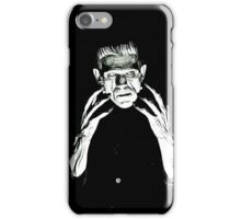 Monster Pen & Ink iPhone Case/Skin