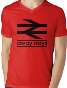 Away Day Culture Mens V-Neck T-Shirt