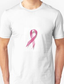 Red Ribbon Breast Cancer Awareness  T-Shirt