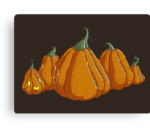 Halloween Pumpkin Patch Canvas Print
