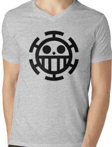Pirate Smile Mens V-Neck T-Shirt
