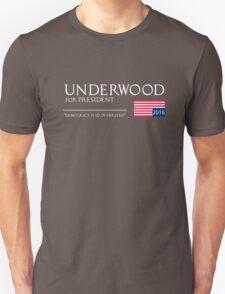 Underwood for President T-Shirt