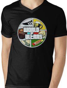 World Culture Ultra Mens V-Neck T-Shirt