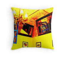 Funky Cushion, Tote Bag & Wall Art!  Throw Pillow