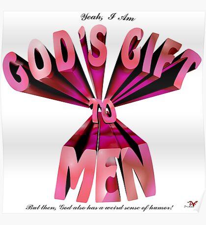 God's Gift to Men Poster
