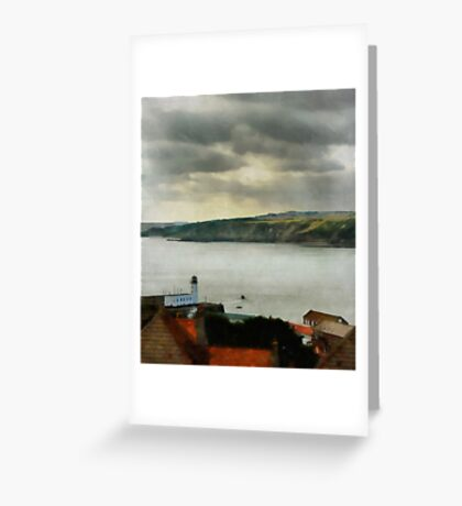 Scarborough From On High Greeting Card