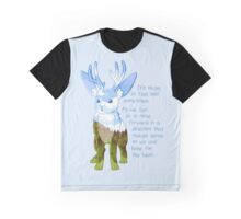 """""""It's Okay to Feel Lost"""" Jackalope Graphic T-Shirt"""