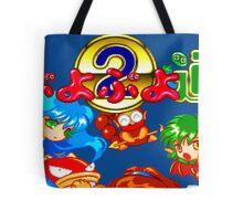 Puyo Puyo Tsu (Mega Drive Title Screen) Tote Bag