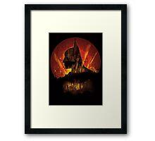 City Knight Framed Print