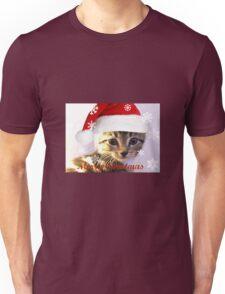 xmas kitty Unisex T-Shirt