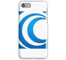 alphabet-C-abstract-icon iPhone Case/Skin