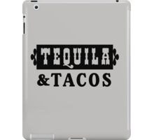 Tequila and Tacos iPad Case/Skin