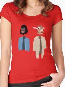 Dirk Gently Vector Women's Fitted Scoop T-Shirt