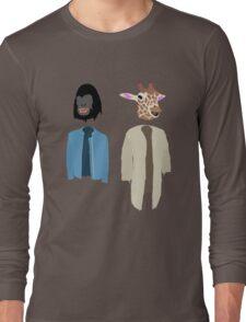 Dirk Gently Vector Long Sleeve T-Shirt