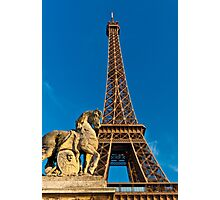 Tour Eiffel Photographic Print