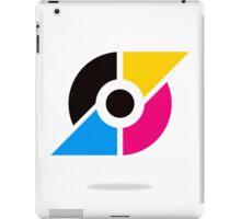 circle-and-triangle-logo iPad Case/Skin