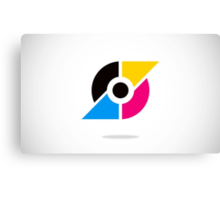 circle-and-triangle-logo Canvas Print
