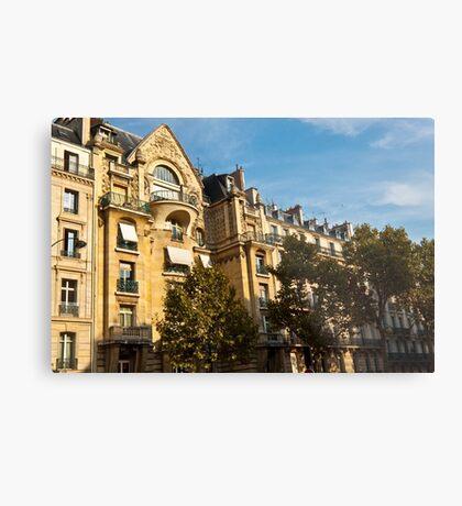Parisian architecture Metal Print