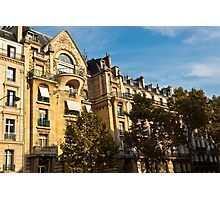 Parisian architecture Photographic Print