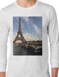 Tour Eiffel et Pont d'Iéna Long Sleeve T-Shirt