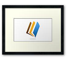 book-logo Framed Print