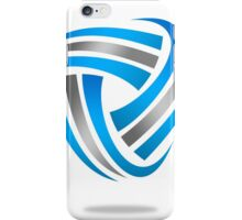 circle-abstract-logo iPhone Case/Skin