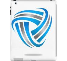 circle-abstract-logo iPad Case/Skin