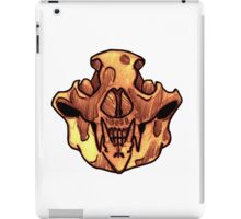 BONE-Bear Skull iPad Case/Skin