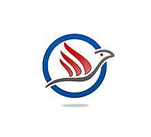 bird-eagle-travel-logo Photographic Print