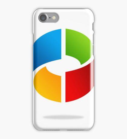 circle-dimensional-logo iPhone Case/Skin