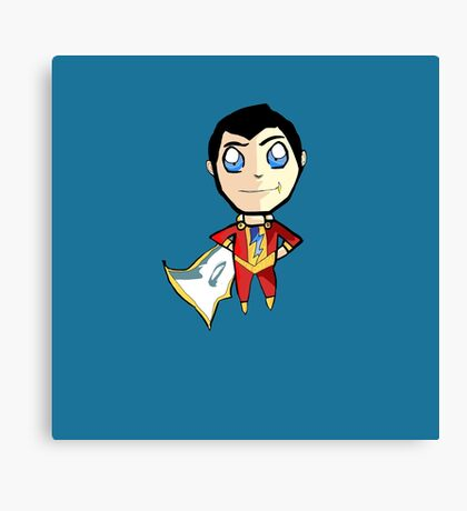 Shazam! W/o Text Canvas Print
