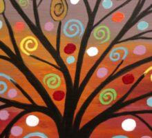 Abstract tree-10 Sticker