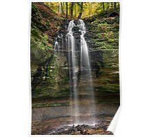 Tannery Falls - Munishing, Michigan Poster