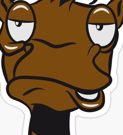 Kamel witzig müde doof  Sticker