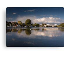Walton riverside Canvas Print