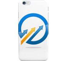 circle-arrow-logo iPhone Case/Skin