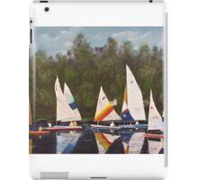 Myrick - Timberlake Sail Boats iPad Case/Skin