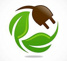 eco-electric-leaf-logo by mydigitall
