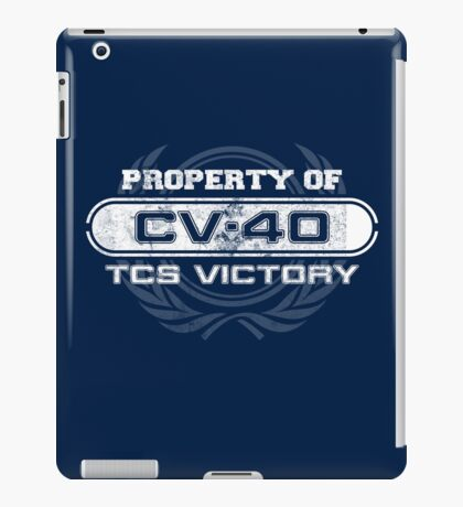 Vintage Property of TCS Victory iPad Case/Skin
