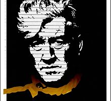 David LYNCH, literally by AliceRisodiva