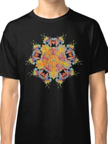 Psychedelic jungle kaleidoscope ornament 21 Classic T-Shirt